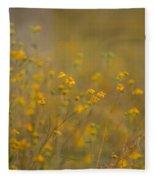 Autumn Wildflowers  Fleece Blanket