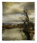 Autumn Winds Fleece Blanket