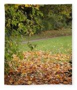 Autumnal 1 Fleece Blanket