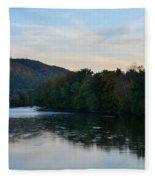 Autumnal Allegheny Fleece Blanket