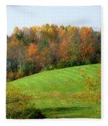 Autumnal Beauty Fleece Blanket