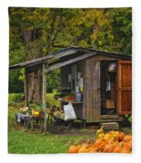 Autumn's Bounty Fleece Blanket