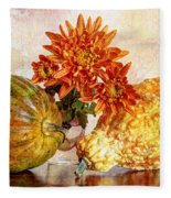 Autumn's Charm Fleece Blanket