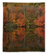 Autumns Design Fleece Blanket