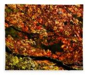 Autumn's Glory Fleece Blanket