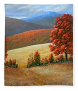 Autumns Glory Fleece Blanket