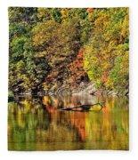 Autumns Glow Fleece Blanket