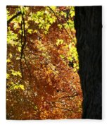 Autumn's Golds Fleece Blanket