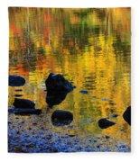 Autumns Rainbow Fleece Blanket