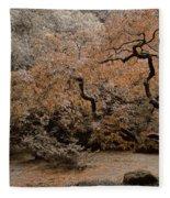 Autumn's Touch Fleece Blanket