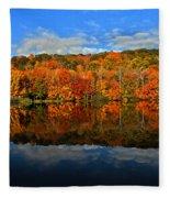 Autumnscape Fleece Blanket