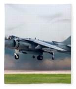 Av-8b Harrier Fleece Blanket