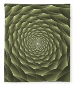 Avacado Vertigo Vortex Fleece Blanket