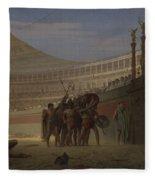 Ave Caesar Morituri Te Salutant , 1859 Fleece Blanket