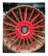 Avery Tractor Tire Fleece Blanket