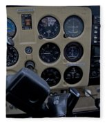Aviation Near Jekyll Island Fleece Blanket