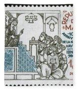 Avicenna, (ibn-sina) Fleece Blanket