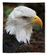 Awesome American Bald Eagle Fleece Blanket