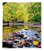 Awesome Autumn  Fleece Blanket