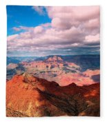 Awesome View Fleece Blanket