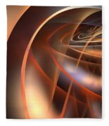 Axial Tilt Fleece Blanket