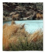 Ayer Lake Fleece Blanket
