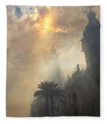 Ayuntamiento Valencia After Mascleta Fleece Blanket