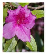 Azalea Fleece Blanket