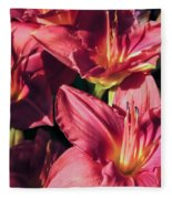 Azalea Riot Fleece Blanket