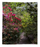 Azalea Trail Fleece Blanket