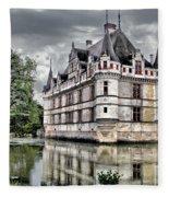 Azay-le-rideau Fleece Blanket