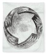 Aztec Bowl Fleece Blanket