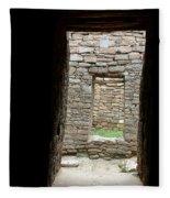 Aztec Doorway Fleece Blanket