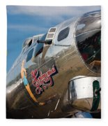 B-17 Flying Fortress Fleece Blanket
