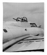 B17 Bomber Fleece Blanket