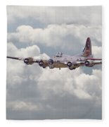 B17- Yankee Lady Fleece Blanket