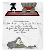 Babar Fleece Blanket