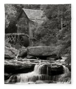 Babcock Grist Mill No. 1 Fleece Blanket