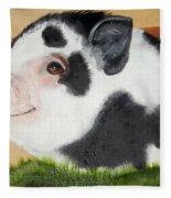Baby Bacon Fleece Blanket