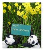 Baby Boomers Fleece Blanket