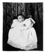 Baby, C1899 Fleece Blanket