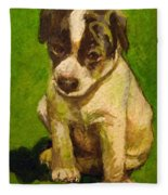 Baby Jack Russel Fleece Blanket