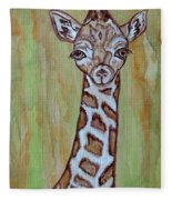 Baby Longneck Giraffe Fleece Blanket