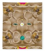 Baby Lord Ganesha Fleece Blanket