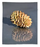 Baby Pine Cone Fleece Blanket