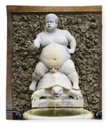 Bacchus Fountain Fleece Blanket