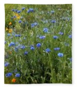 Bachelor's Meadow Fleece Blanket