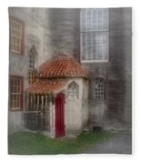Back Door To The Castle Fleece Blanket