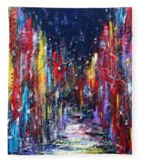 Back Street Fleece Blanket