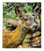Back-tail Doe Fleece Blanket